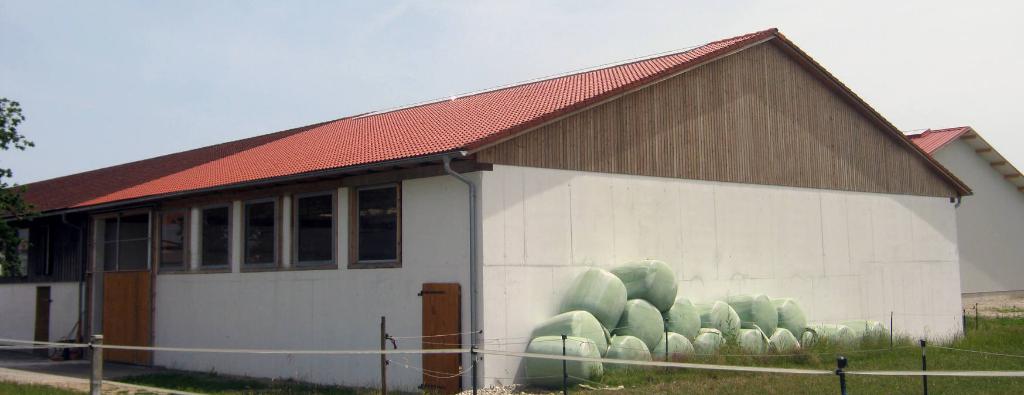 Maschinenhalle / Tierstall